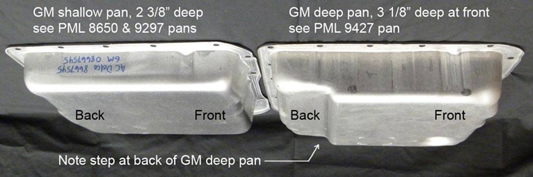 Comparison between 4l60e shallow and deep transmission oil pans - CPT 4l60e
