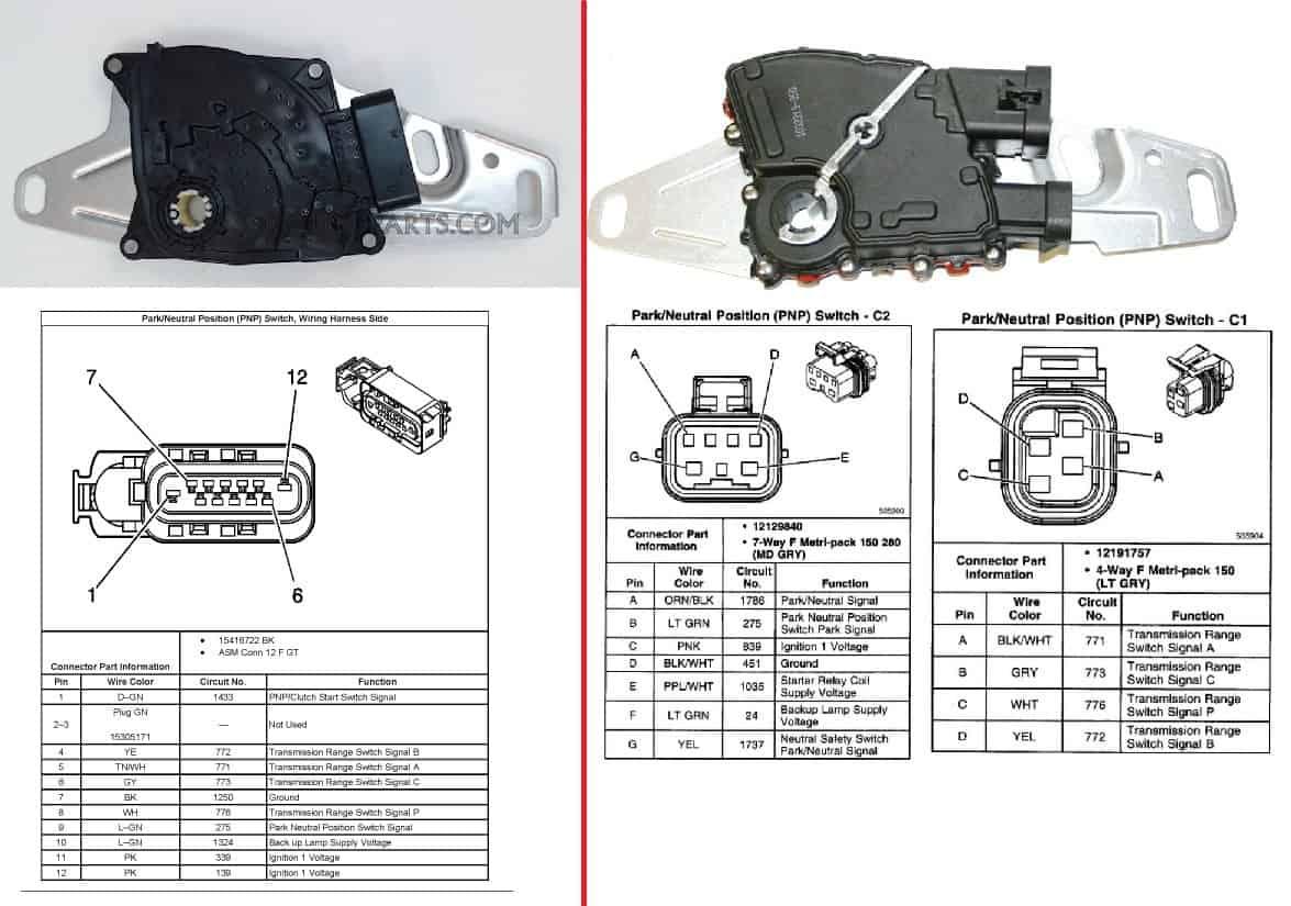4l60e neutral safety switch - CPT 4l60e