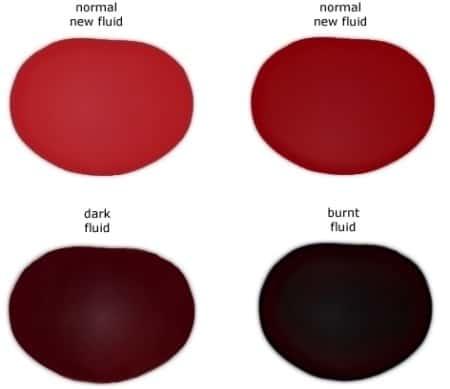 Transmission Fluid Color - CPT 4l60e